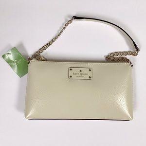 Kate Spade NWT Byrd Wellesley Bag In Porcelain